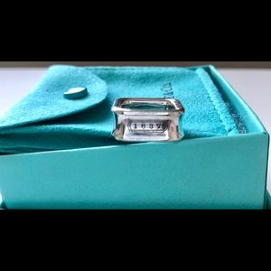 Tiffany & Co. Jewelry - Authentic TIFFANY & CO Square Cushion Ring